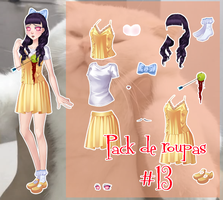 Pack de roupa #13 by Unnieverso