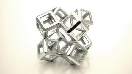 Twisted woven cube 2 by usere35