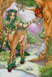 Dryad of the Forest by cowgirlem