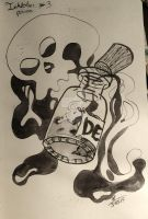 Inktober Day 3- Poison by atsumimag