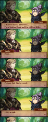 |FeTextConvo|FE:F| You Are a Seed by UniversalKun