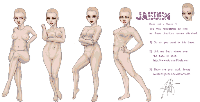 Jaeden Base - Released. by Mistress-Jaeden