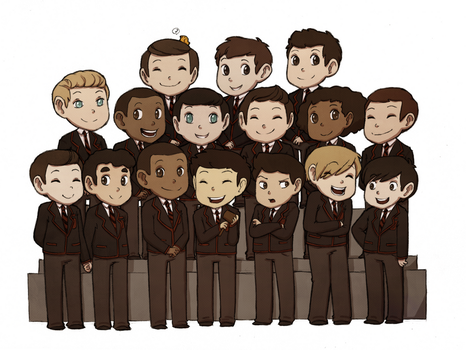 Warblers by Plumey