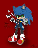 Legionization Request Sonic The Hedgehog?!?! by SirBurnout