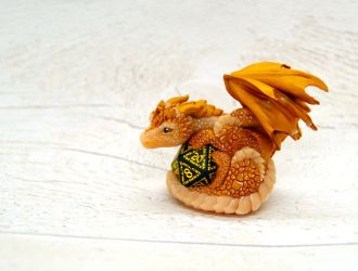 Little Dice Dragon by LittleDragonDesigns