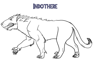 Indothere Concept - Lines by Troyodon