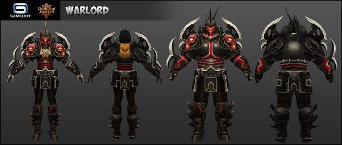 Warlord : Dungeon Hunters III by Cydel