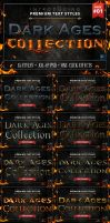 Dark Ages - Text Styles by ivelt