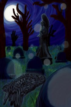 Angel Graveyard 1 by LedStripedDoors21