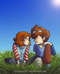 Young cuties by FEuJenny07