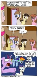 The Guest Writer by timsplosion