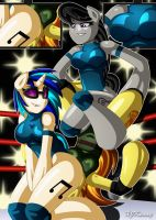 Double Teaming by XJKenny