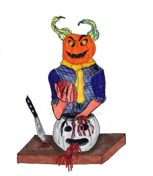 Pumpkin Wicked This Way Comes by Kastil