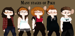 Many Stages Of Pikii by PikiiOfficial