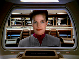 Captain Jadzia Dax by monkeysuncle30