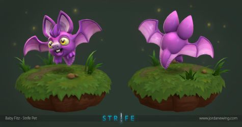 Baby Fitz - Strife Pet by Dvolution