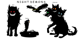 Night Demons by cjc728