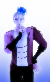 [MMD] King of ice by JoanAgnes