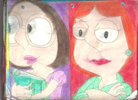 Meg and Lois by RozStaw57