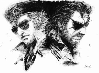 Kaz and Snake by Kimi-the-Sioux