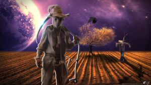 Scarecrow by MJClArt