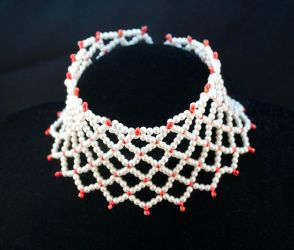 Beaded Choker 'Esther' by oasiaris