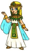 Zelda, the Egyptian Princess by Villaman89