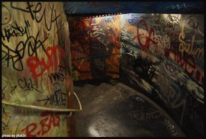 Want to ride? Tube-stairs. by J4ck3R