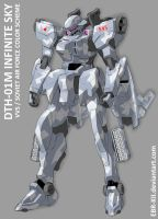 DTH-01M Infinite Sky color scheme #3 by EBR-KII