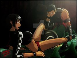 Bad times with Kung Lao by TheInsaneDarkOne