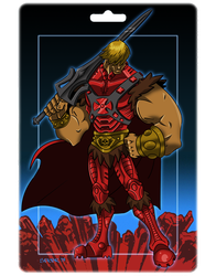 Prince of Eternia by spicemaster