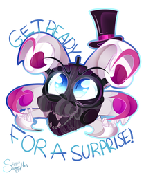 Faceplates Funtime Freddy by The-Omega-Square