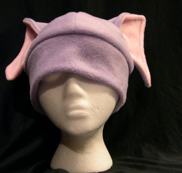 Lilac Elephant Hat by kittyhats