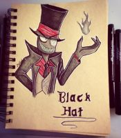 Black Hat by RavenIntrepidity