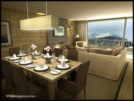 Mountain apartment by PGDsx