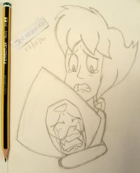 Sad Lapidot :c by JenHedgehog