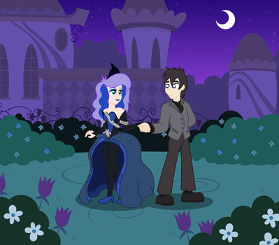 Tristan and Luna: A Match Made in the Moonlight by BBBHuey