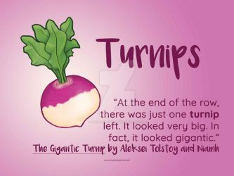 Turnips by SheilaSunshine