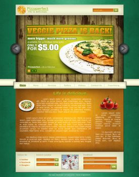 Pizzaperfect Mockup by rptdelosreyes