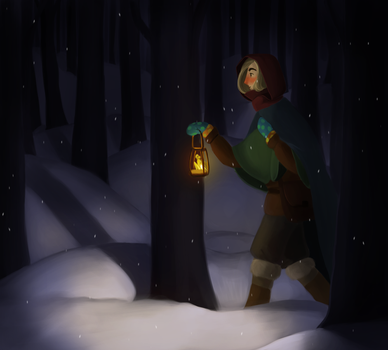 The winterwitch by Echey
