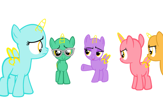 Filly Group Base (42) by Amelia-Bases