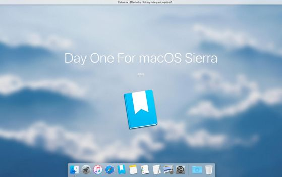 Day One For macOS Sierra by MaxColins