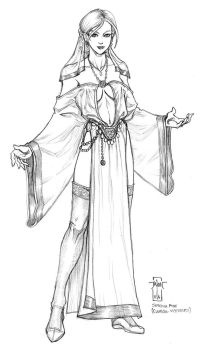 Sareena Foxe - clerical vestments by Everwho