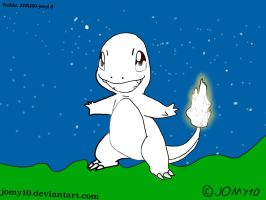 Charmander drawing plate by jomy10