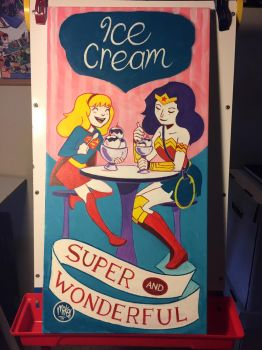 Ice Cream is Super and Wonderful by mikemaihack