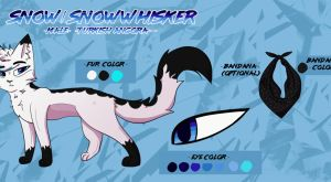 Snow/SnowWhisker Ref - October 2017 by SnowWhisker4