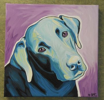 Black Lab (Marley) by Rumpy1993