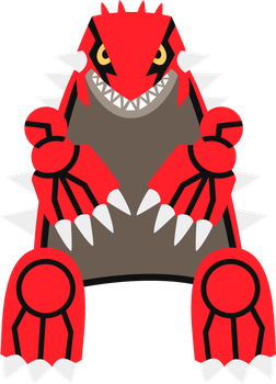 Groudon Flat by Evonyx3
