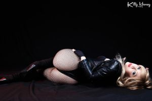 Black Canary cosplay by Kitty-Honey
