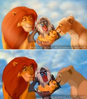 Paintover - The Lion King by EricHenrique